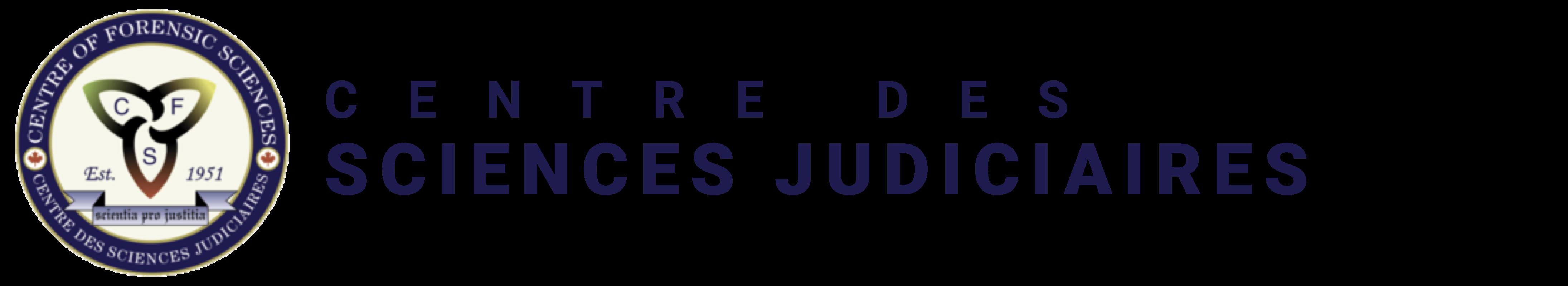 Logo du Centre des sciences judiciaires